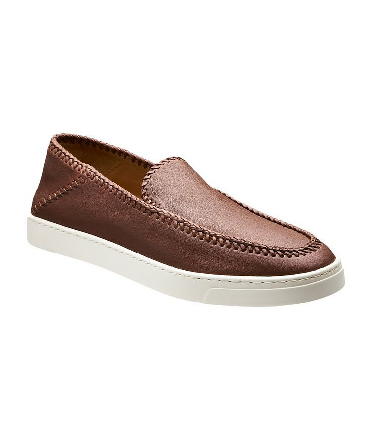 Slip-On Leather Sneakers image 0