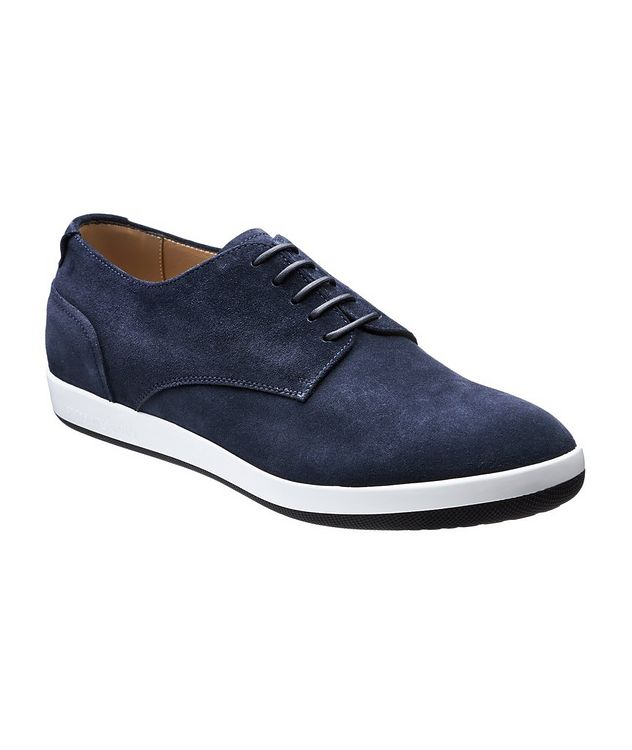 Suede Derbies picture 1