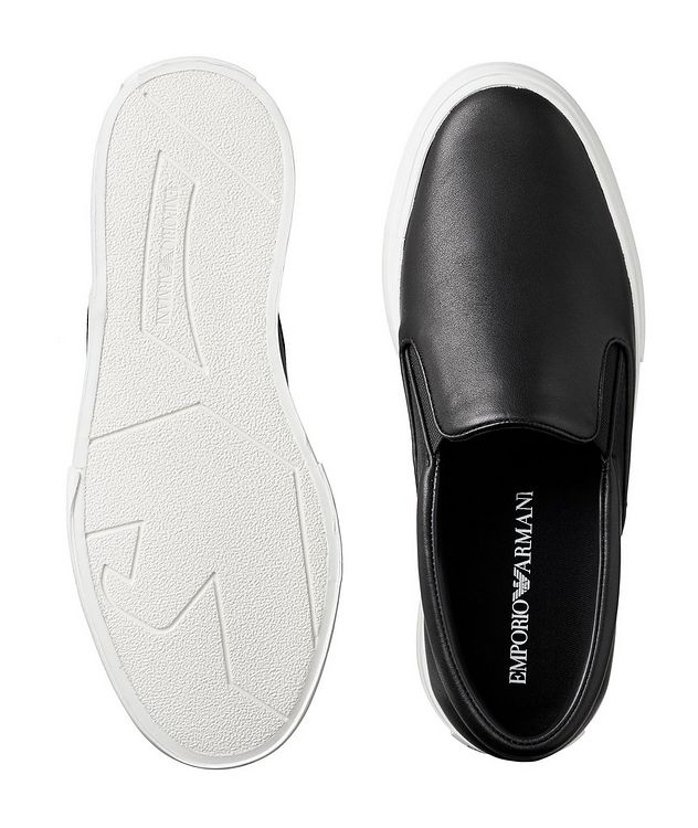 Slip-On Leather Sneakers picture 3