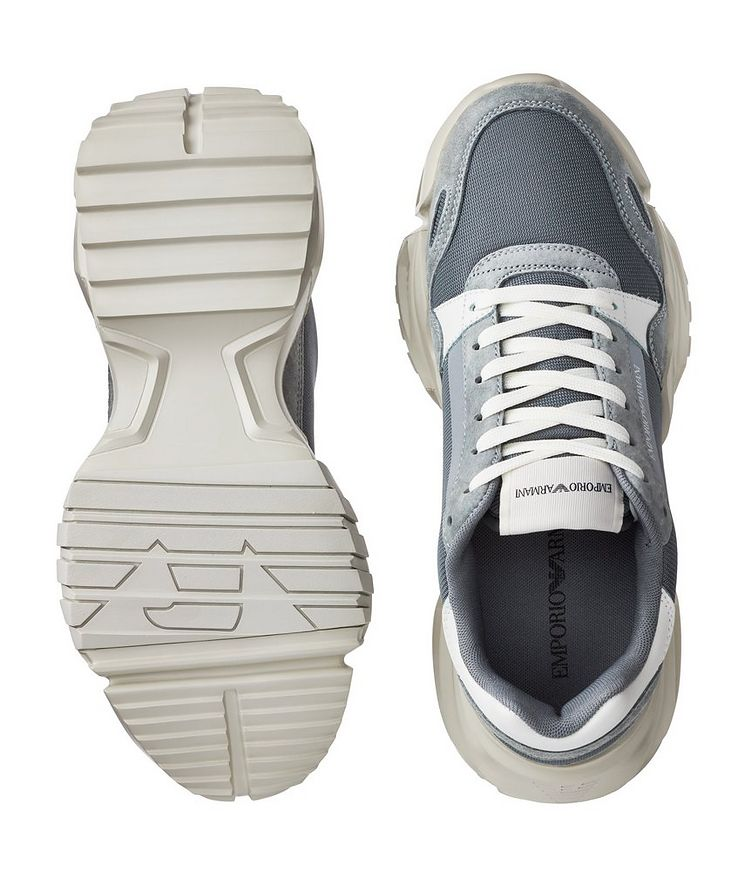 Multi-Texture Sneakers image 2