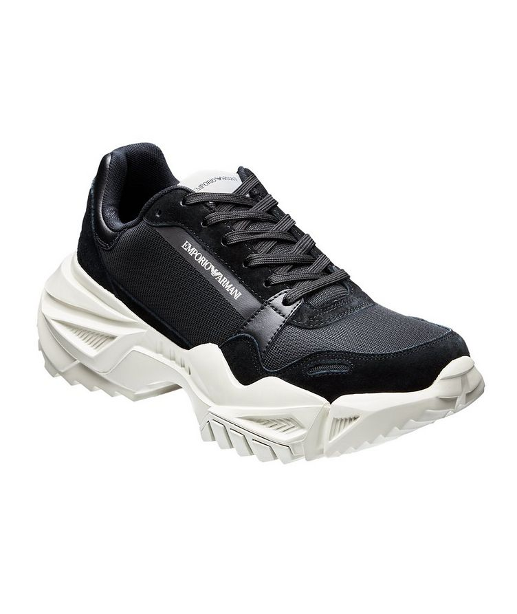 Multi-Texture Sneakers image 0