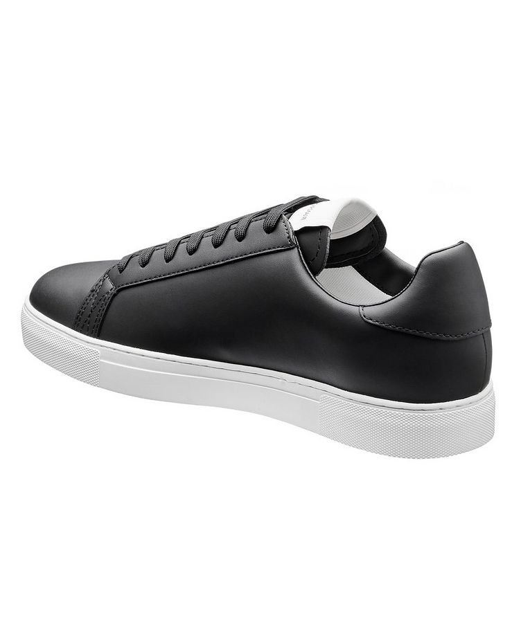 Logo Leather Sneakers image 1