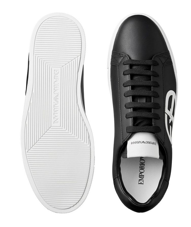Logo Leather Sneakers image 2