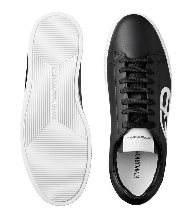 Logo Leather Sneakers picture 3