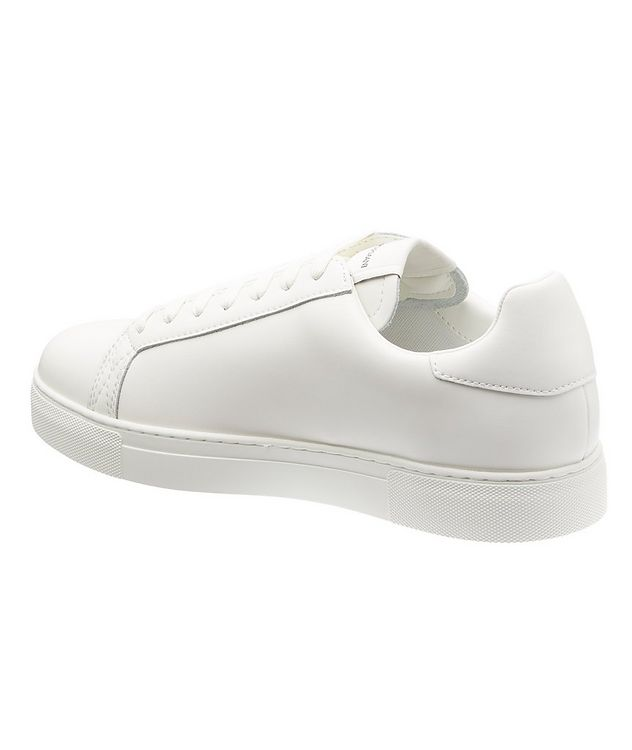 Logo Leather Sneakers picture 2