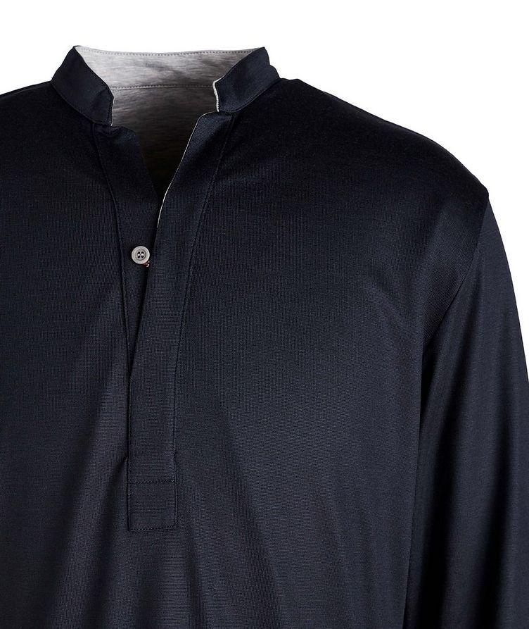 Reversible Wool-Cotton Blend Henley  image 1