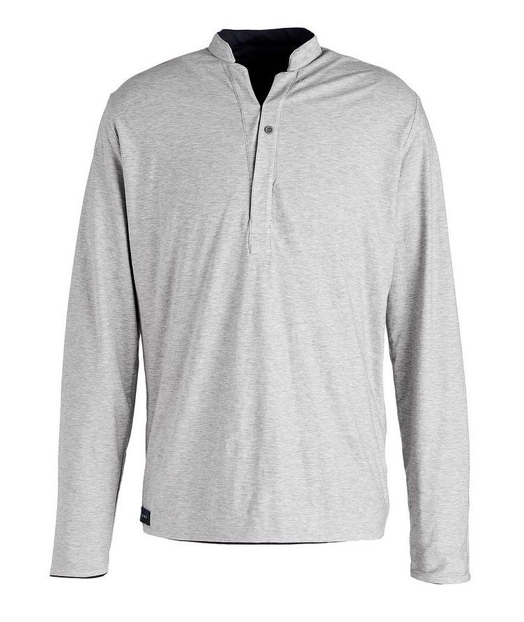 Reversible Wool-Cotton Blend Henley  image 2