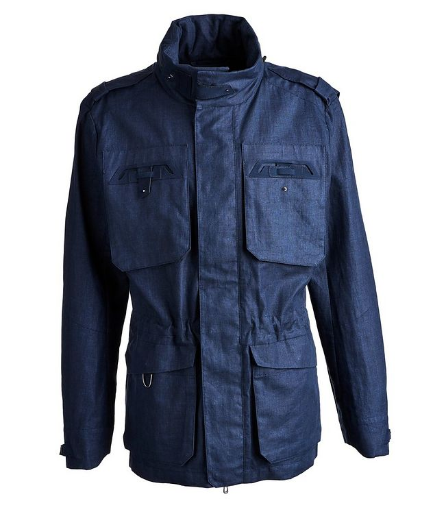 Endurance 3.0 Waterproof Linen Field Jacket picture 1