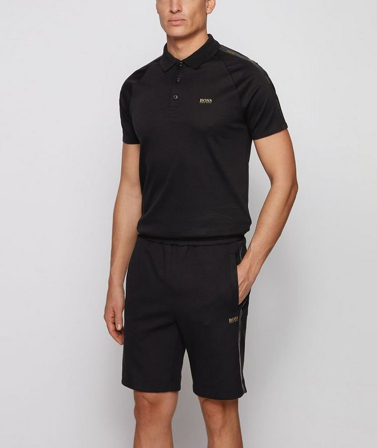 Slim-Fit Paul Gold Cotton Polo image 1