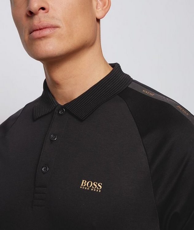 Slim-Fit Paul Gold Cotton Polo picture 4