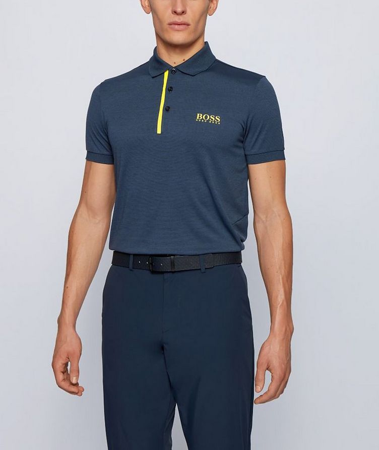 Slim-Fit Pauletech 1 Responsible Polo image 1