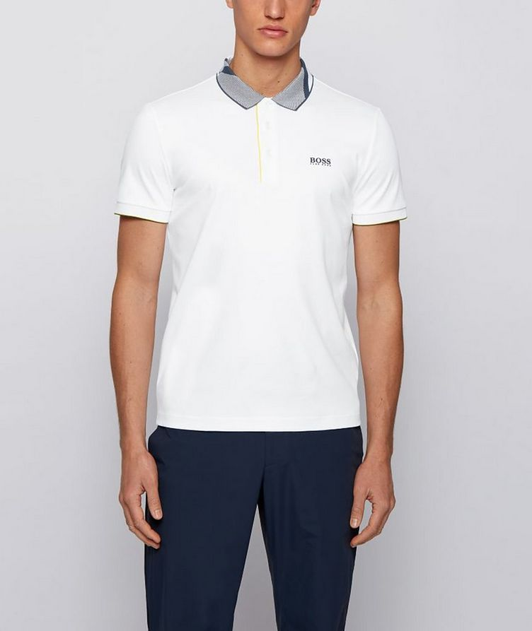 Slim-Fit Paule 6 Stretch Luxury Cotton Polo image 1