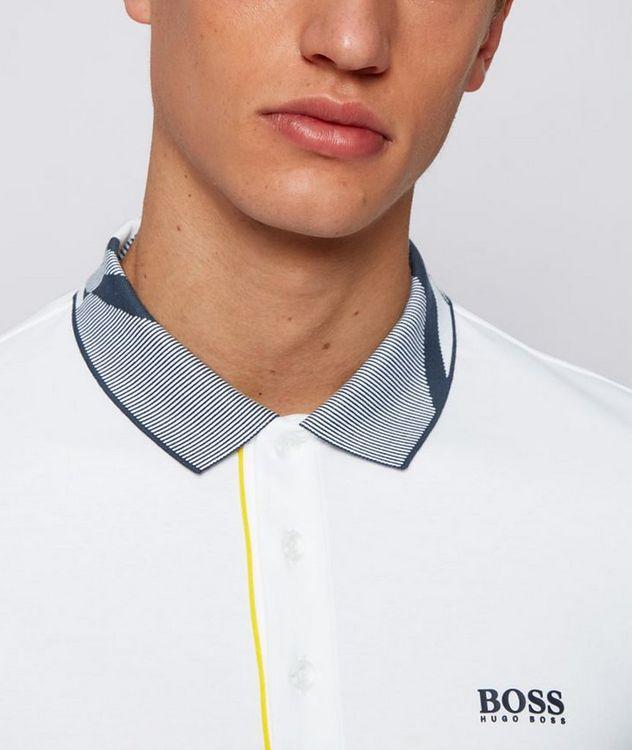 Slim-Fit Paule 6 Stretch Luxury Cotton Polo picture 4