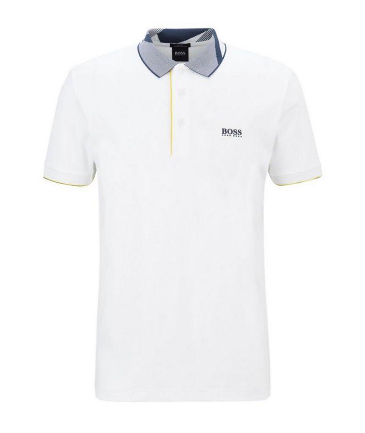 Slim-Fit Paule 6 Stretch Luxury Cotton Polo image 0