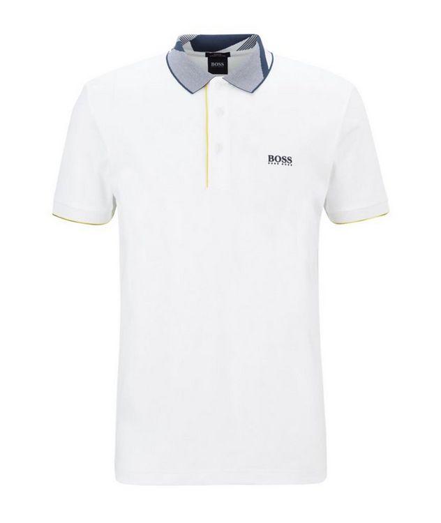 Slim-Fit Paule 6 Stretch Luxury Cotton Polo picture 1