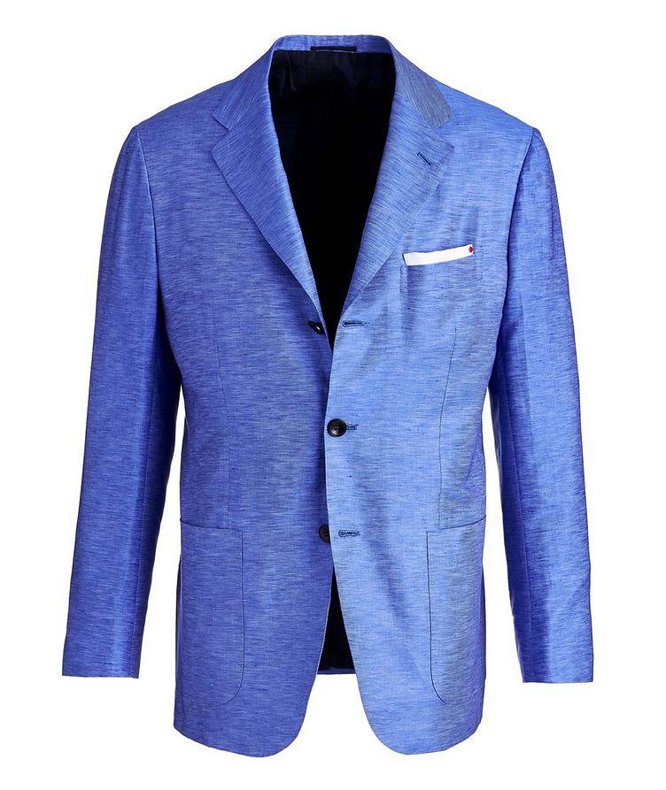 Cotton-Linen Sports Jacket image 0