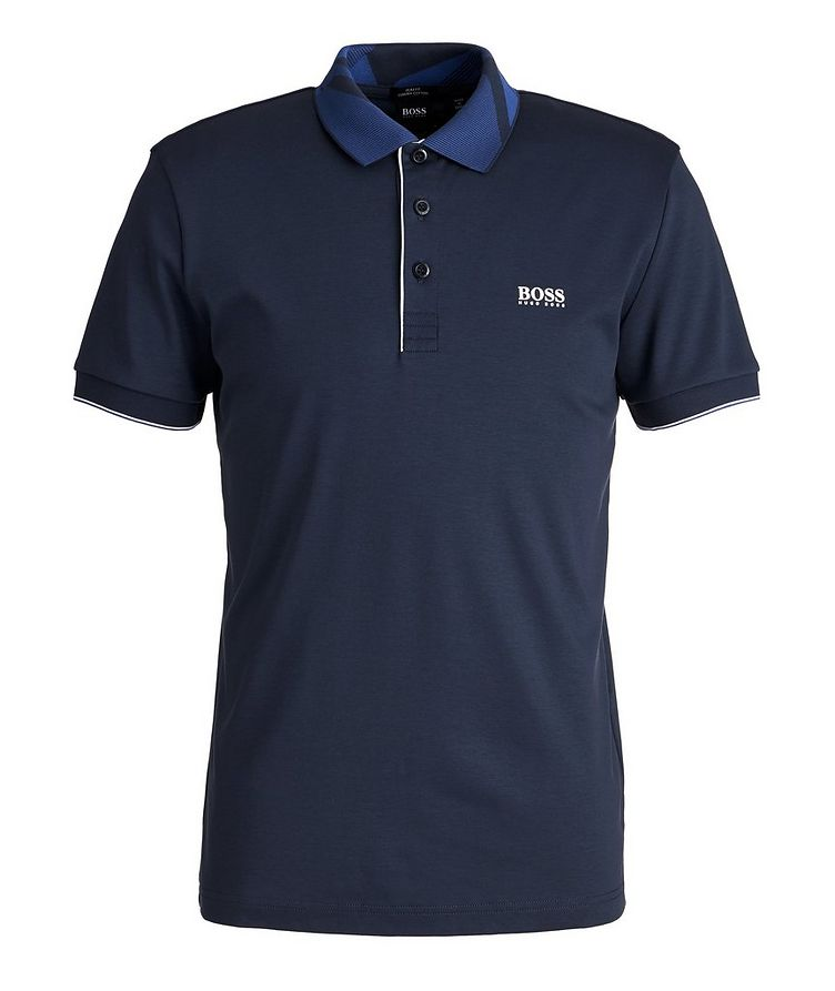 Slim-Fit Paule 6 Stretch Luxury Cotton Polo image 0