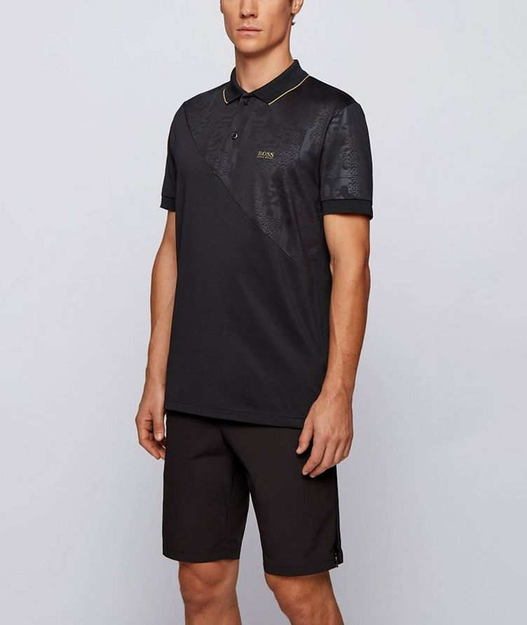 Paddy Gold Responsible Cotton-Blend Polo image 1