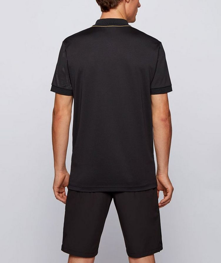 Paddy Gold Responsible Cotton-Blend Polo image 2