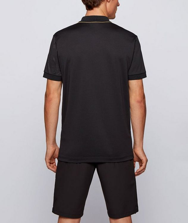 Paddy Gold Responsible Cotton-Blend Polo picture 3