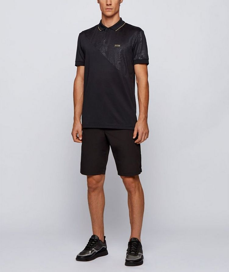 Paddy Gold Responsible Cotton-Blend Polo image 4