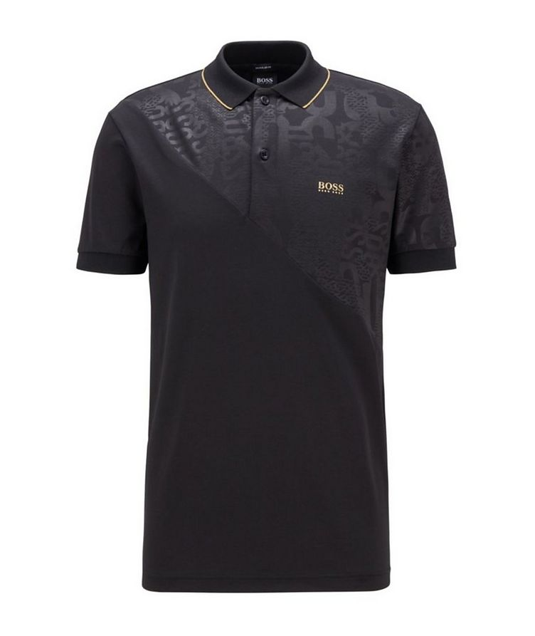 Paddy Gold Responsible Cotton-Blend Polo image 0