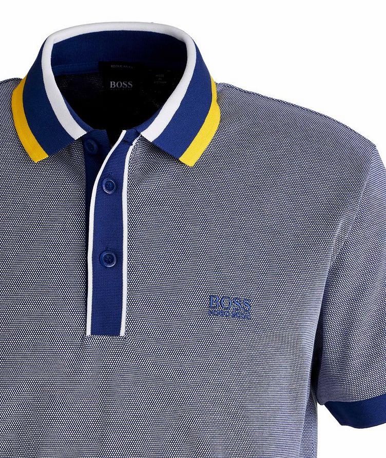 Paddy 2 Piqué Cotton Polo image 1