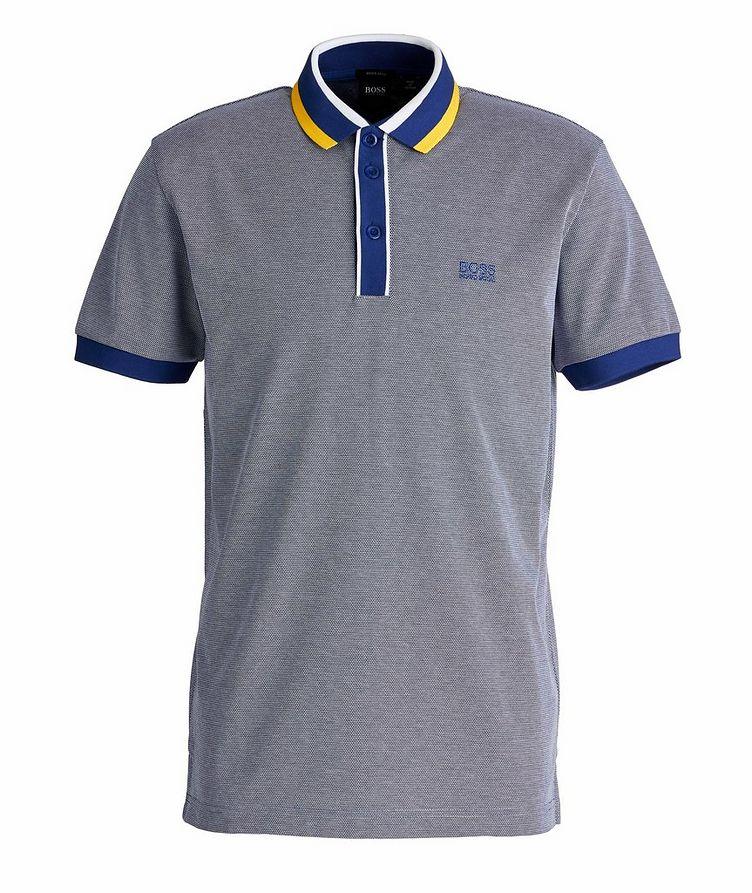 Paddy 2 Piqué Cotton Polo image 0