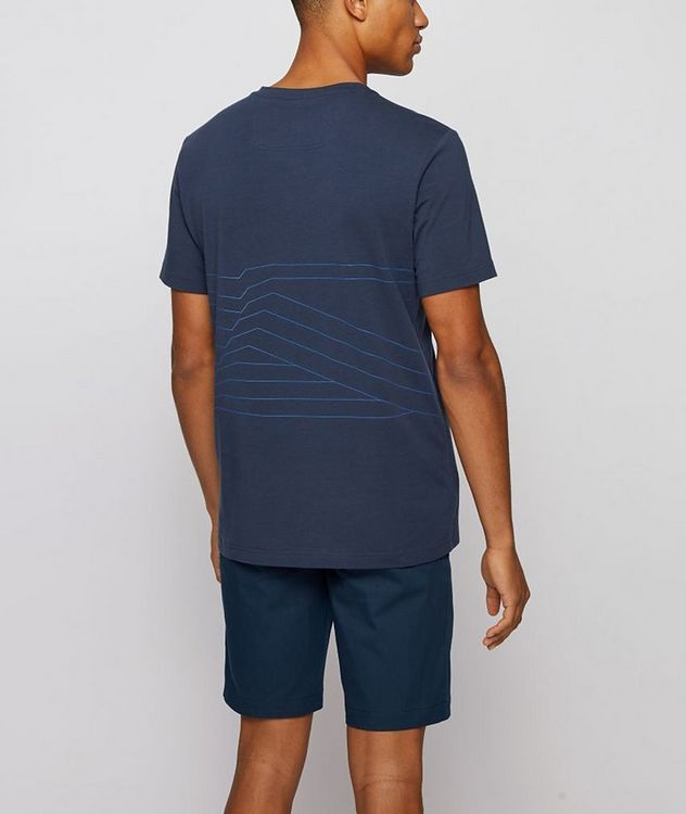 Responsible Stretch-Organic Cotton T-Shirt picture 3