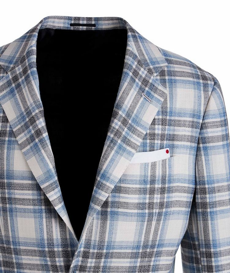 Cashmere, Wool, Silk, and Linen Sports Jacket image 2