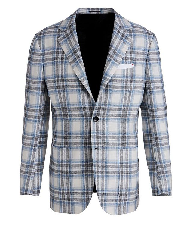 Cashmere, Wool, Silk, and Linen Sports Jacket picture 1