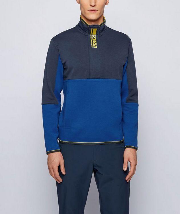 Sweat 1 Half-Zip Cotton-Blend Sweatshirt picture 2