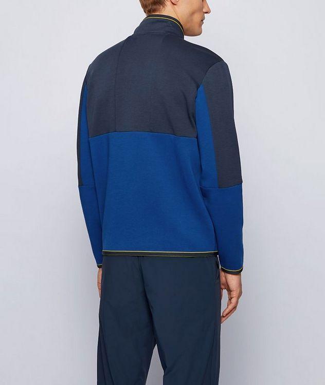 Sweat 1 Half-Zip Cotton-Blend Sweatshirt picture 3
