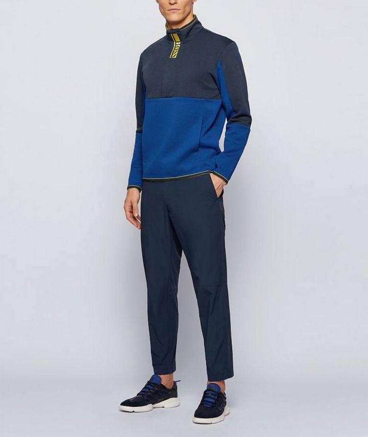 Sweat 1 Half-Zip Cotton-Blend Sweatshirt image 3