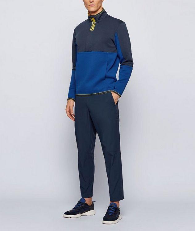 Sweat 1 Half-Zip Cotton-Blend Sweatshirt picture 4