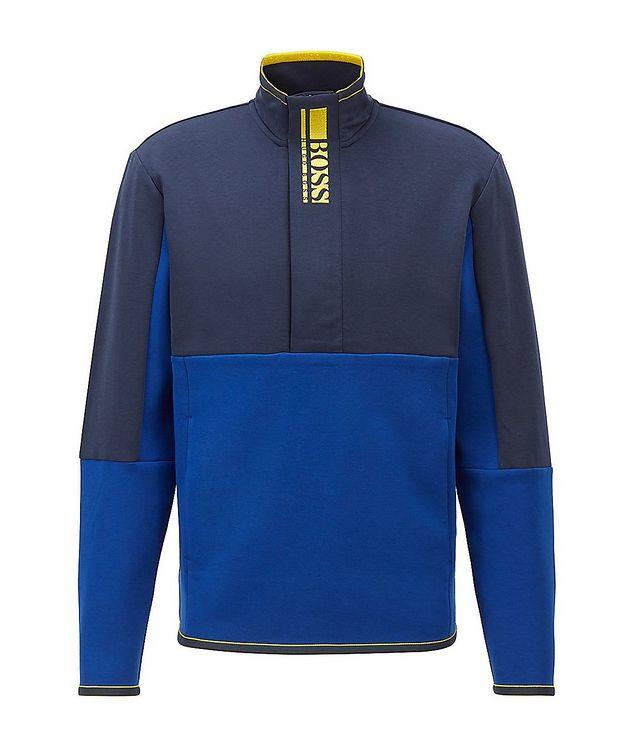 Sweat 1 Half-Zip Cotton-Blend Sweatshirt picture 1