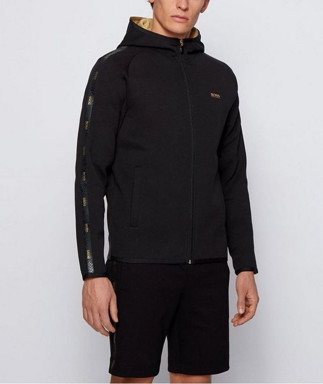 Saggy 2 Zip-Up Cotton-Blend Hoodie picture 2