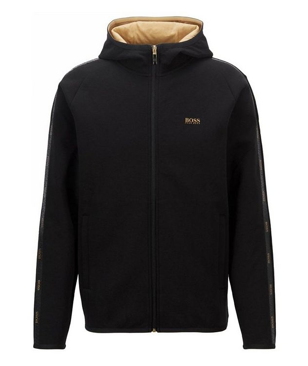 Saggy 2 Zip-Up Cotton-Blend Hoodie picture 1