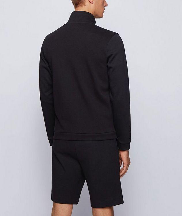Skaz Zip-Up Cotton-Blend Sweatshirt picture 2