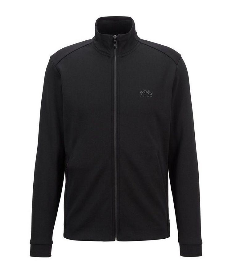 Skaz Zip-Up Cotton-Blend Sweatshirt image 0