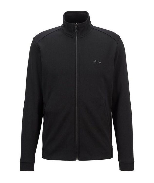 Skaz Zip-Up Cotton-Blend Sweatshirt picture 1