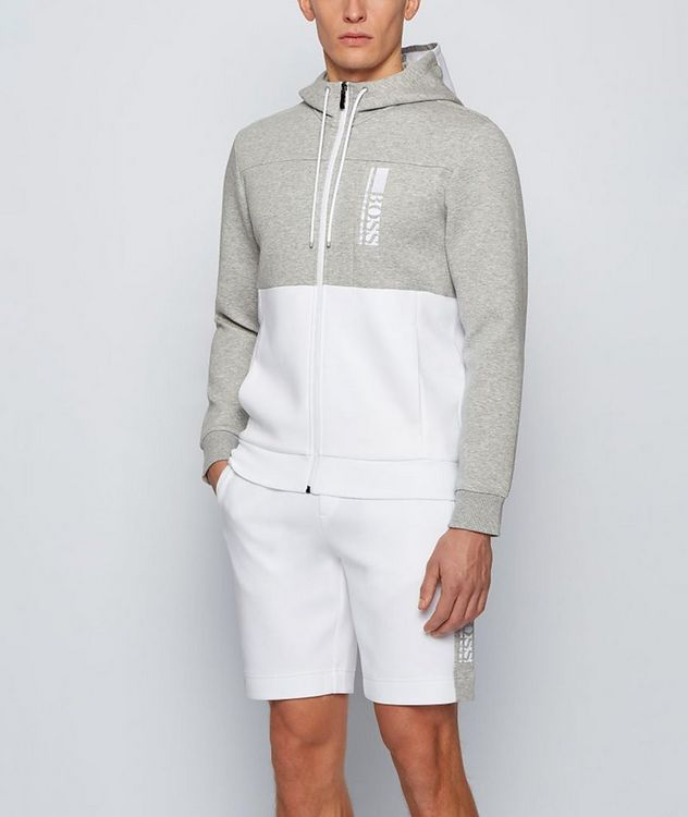 Saggy 1 Zip-Up Cotton-Blend Hoodie picture 2