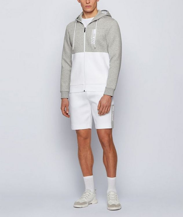 Saggy 1 Zip-Up Cotton-Blend Hoodie picture 4