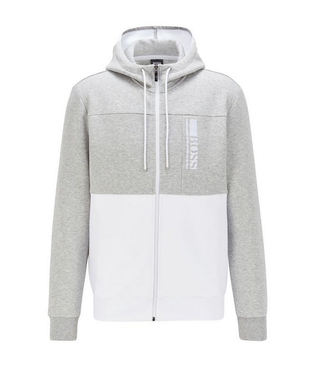 Saggy 1 Zip-Up Cotton-Blend Hoodie picture 1