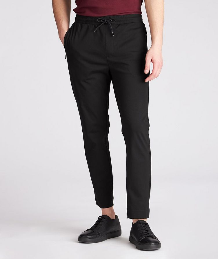 Hwoven Cotton-Blend Track Pants image 1