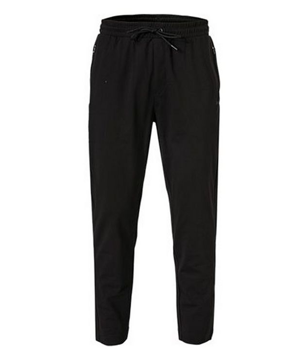 Hwoven Cotton-Blend Track Pants picture 1
