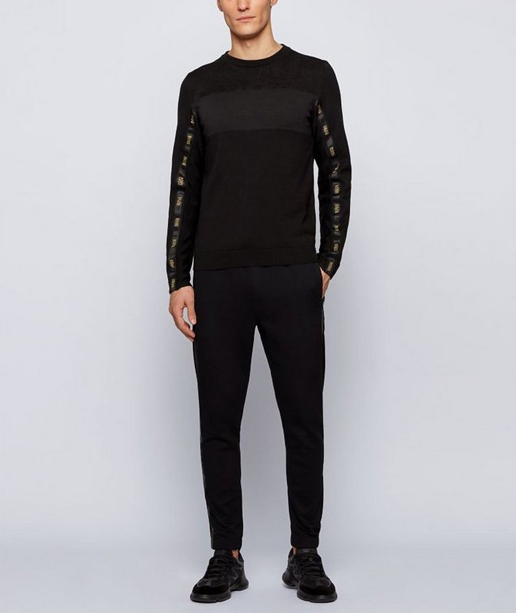 Pantalon sport Hadiko 2 en mélange de coton image 4
