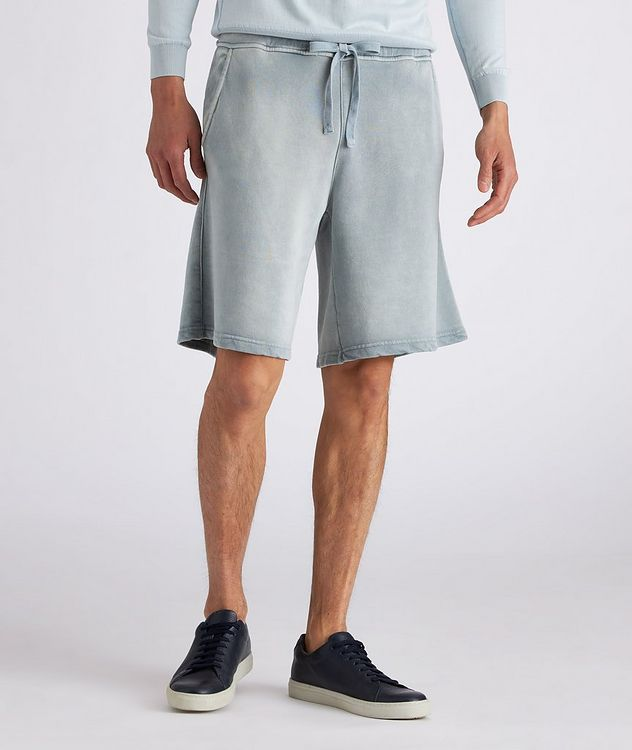 Pasik Lyocell-Cotton Terrycloth Drawstring Shorts picture 3