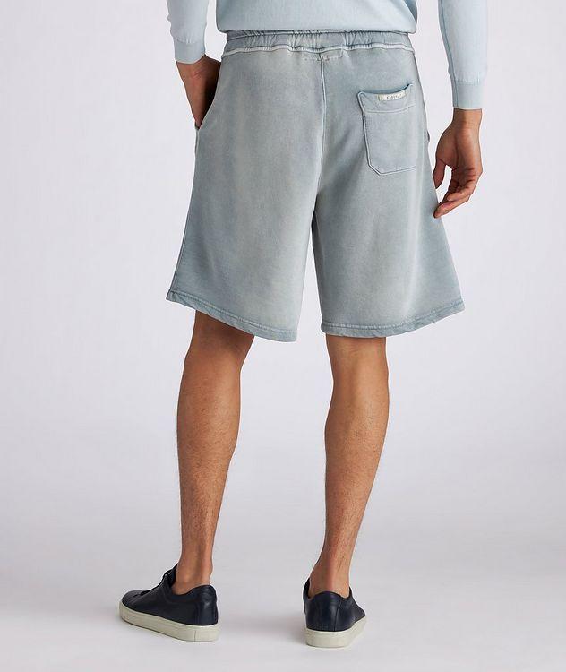 Pasik Lyocell-Cotton Terrycloth Drawstring Shorts picture 4
