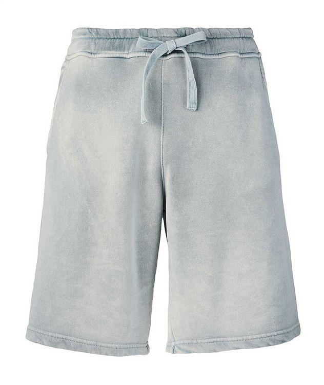 Pasik Lyocell-Cotton Terrycloth Drawstring Shorts picture 1
